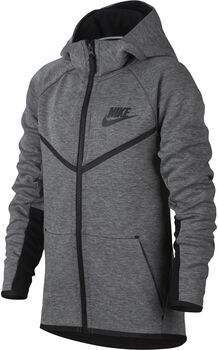 Nike Tech Fleece Windrunner Jongens Zwart