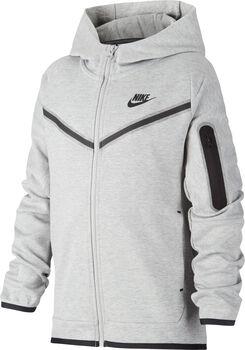 Nike Sportswear Tech kids fleece hoodie Jongens Zwart