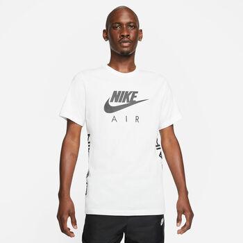 Nike Air t-shirt Heren Wit