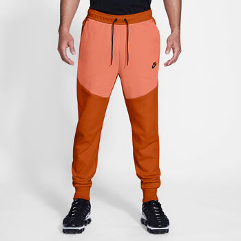 Nike Sportswear Tech Fleece joggingsbroek Heren Oranje
