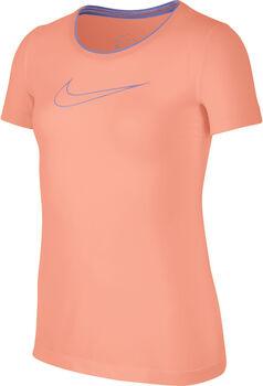 Nike Pro shirt Meisjes Oranje