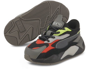 Puma RS-X City Attack AC kids sneakers Jongens Zwart