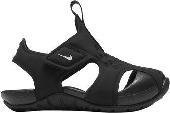 Nike Sunray sandalen Zwart