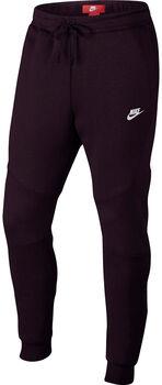 Nike Tech Fleece Jogger broek Heren Rood