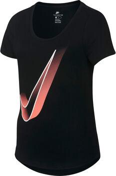 Nike Sportswear Scoop Interstellar shirt Meisjes Zwart