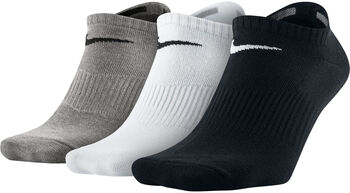 Nike Lightweight No Show sokken (3-pak) Wit