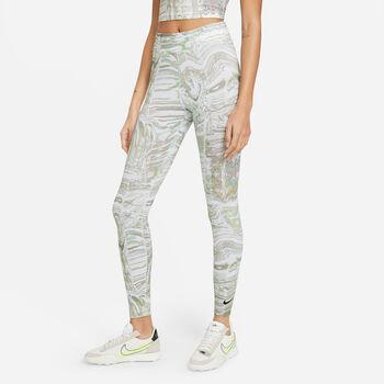Nike Sportswear AOP Printed legging Dames Wit