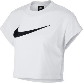 Nike Sportswear Swoosh Crop top Dames Wit