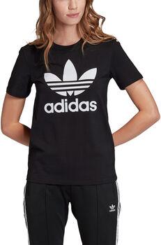 adidas Trefoil t-shirt Dames Zwart