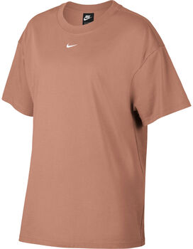 Nike Sportswear Essential Short-Sleeve Top Dames Rood