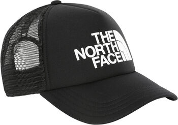 The North Face Logo Trucket pet Zwart