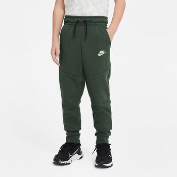 Nike Sportswear Tech kids fleece joggingsbroek Jongens Groen