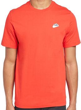 Nike Sportswear Heritage T-Shirt Heren Rood