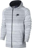 Nike Av15 Hoodie Fz Knit Heren Wit