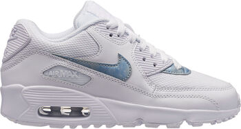 Nike Air Max 90 Mesh sneakers Jongens Wit