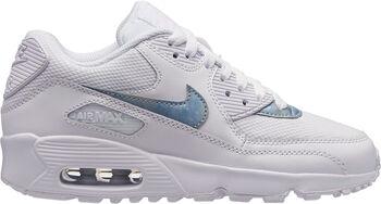 cd28efe3b68 Nike Air Max 90 Mesh sneakers Jongens Wit