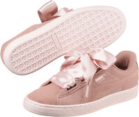 Puma Suede Heart Pebble Dames Oranje