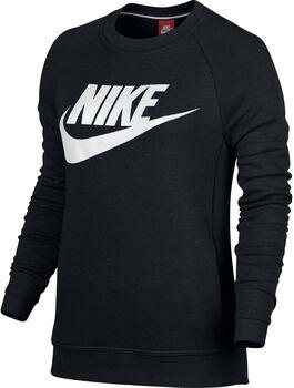 Nike Sportswear Modern Crew sweater Dames Zwart