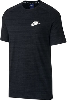 Nike Sportswear Advance 15 shirt Heren Zwart