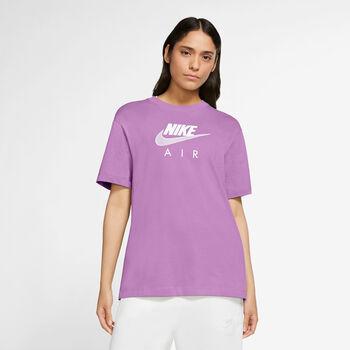 Nike Sportswear Air t-shirt Dames Paars