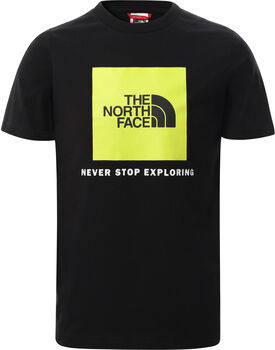The North Face Box kids t-shirt Jongens Zwart