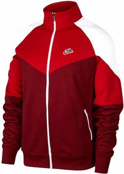 Nike Sportswear Heritage jack Heren Rood