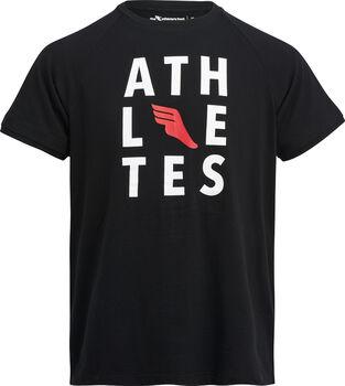 The Athlete's Foot Auber I shirt Heren Zwart