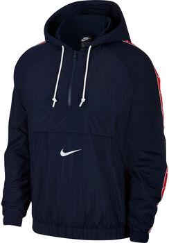 Nike Sportswear Swoosh Woven jack Heren Blauw