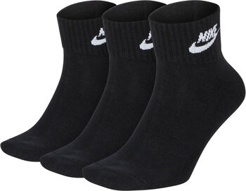 Nike Everyday Essential enkelsokken Heren Zwart