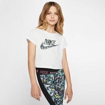 Nike Sportwear shirt Meisjes Wit