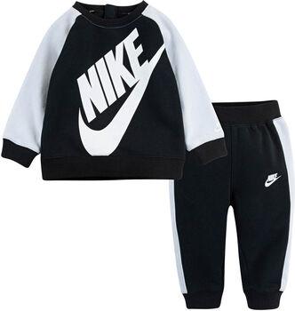 Nike Oversized Futura Crew kids set Jongens Zwart