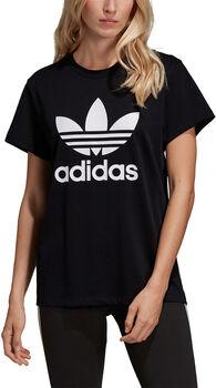 adidas Boyfriend Trefoil shirt Dames Zwart
