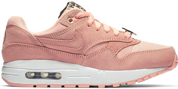 Nike Air Max 1 sneakers Dames Rood