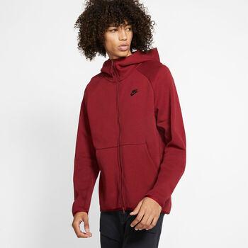 Nike Sportswear Tech Fleece hoodie Heren Rood