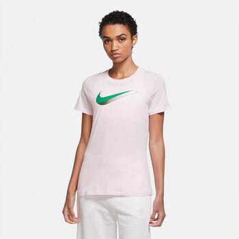 Nike NSW icon shirt Dames Roze