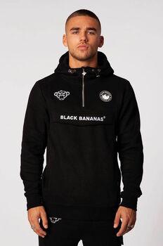Black Bananas Anorak Pull-Up hoodie Heren Zwart