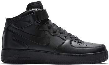 Nike Air force 1 Mid '07 Heren Zwart