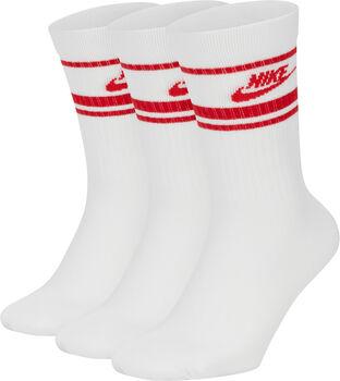 Nike Sportswear Essential Stripe sokken Wit