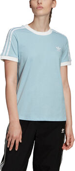 adidas 3-Stripes shirt Dames Blauw