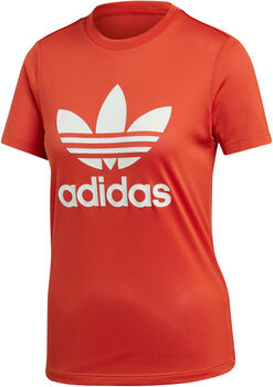 adidas Logo shirt Dames Oranje