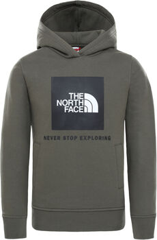 The North Face New Box Pullover kids hoodie Jongens Groen