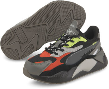 Puma RS-X City Attack kids sneakers Jongens Zwart