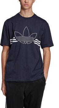 adidas Outline shirt Heren Blauw