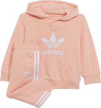 adidas Adicolor kids hoodie set Meisjes Oranje
