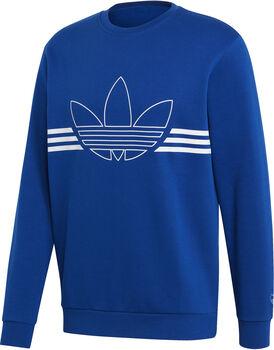 ADIDAS Outline sweater Heren Blauw