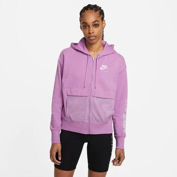 Nike Air Full Zip sweater Dames Paars