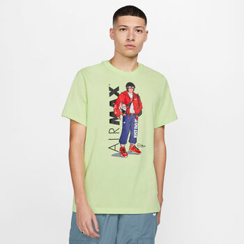 Nike Sportswear t-shirt Heren Groen