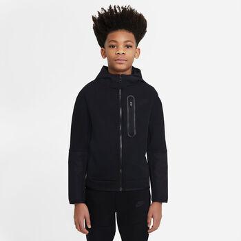 Nike Sportswear Tech Fleece kids sweater Jongens Zwart