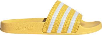 adidas Adilette slippers Dames Geel