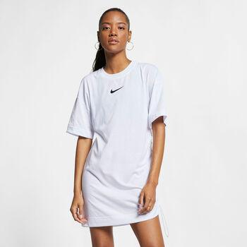 Nike Sportswear Swoosh Dress Dames Wit